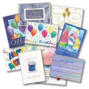 ... cards – a happy birthday for my brother and a mot